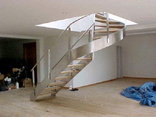 Escada Aço Inox