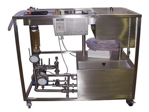 Maquina pra tratamento de água em aço inox
